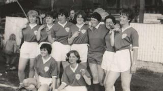 Original Leicester City Ladies team in 1966