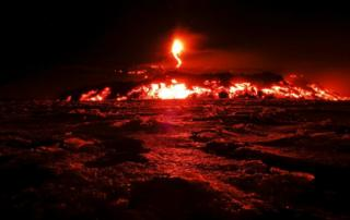 Mount Etna on the Italian island of Sicily