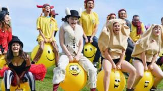 Performers at the 2016 Edinburgh Fringe