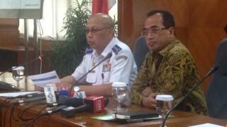 Menteri Perhubungan Budi Karya Sumadi, Dirjen Perhubungan Darat Pudji Rahardjo