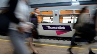 Thameslink train
