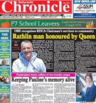 Ballycastle newspaper