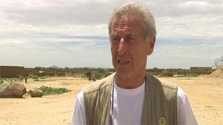 Roland van Hauwermeiren, believe to be in Chad in 2008.