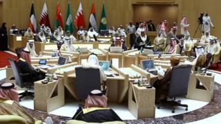 اجتماع وزراء خارجية دول مجلس التعاون الخليجي