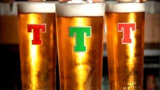 Pints of Tennent's beer