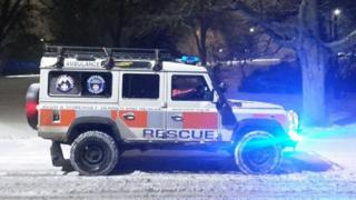 Avon & Somerset Search and Rescue vehicle