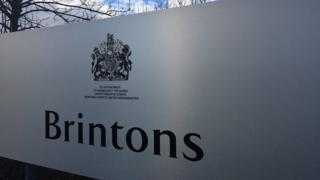 Brintons sign