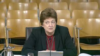 SQA chief executive Janet Brown