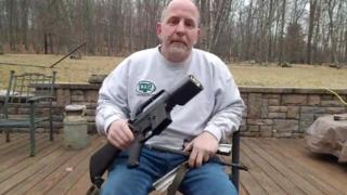 Scott Pappalardo's video of him sawing up his assault rifle has been viewed more than 22 million times