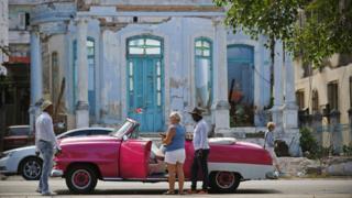 Tourists in Havana