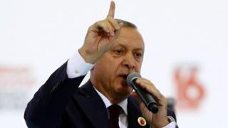 Turkish President Recep Tayyip Erdogan, 14 Aug 17