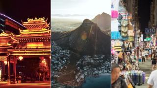 Beijing, Cape Town and Hong Kong