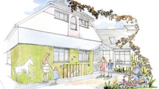 Julia's House new hospice in Devizes, Wiltshire