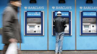 Barclays cash machines