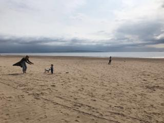 Troon beach