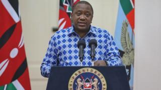 Pereizda Uhuru Kenyatta ubwo yatangazaga ko hari umuntu wakize iyi ndwara