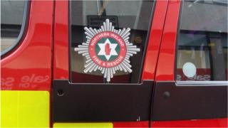 Northern Ireland Fire and Rescue Service vehicle