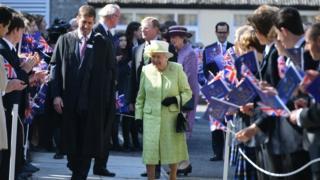 Queen at King's Bruton School