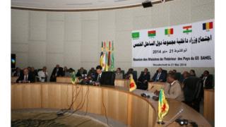 Une réunion du G5 Sahel en Mauritanie en 2014