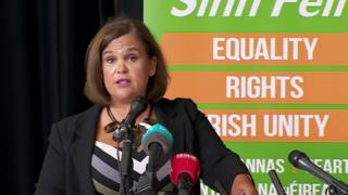 Brexit: Sinn Féin repeats call for border poll if no deal