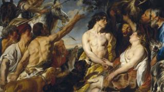 The painting was discovered in a storeroom