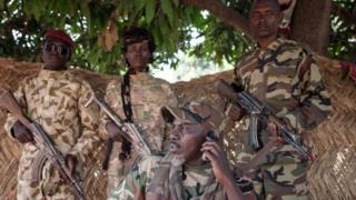 Ahamat Bahar, un général autoproclamé, ancien membre de Seleka, chef de milice (illustration).
