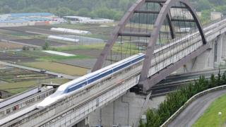 日本磁悬浮列车