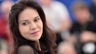 Maria Isabel Lopez attends the Cannes Film Festival (18 May 2016)