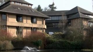 Powys council headquarters