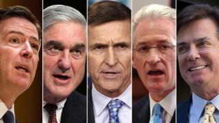 Donald Trump'ın ekibi hakkındaki Rusya soruşturmasında 5 kilit isim