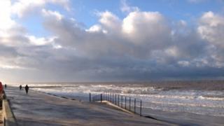 Prestatyn seafront