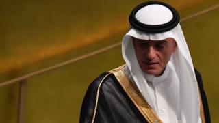 Ministro das Relações Exteriores saudita, Adel al-Jubeir
