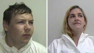 Shaun Wallace and his sister Ashleigh Wallace