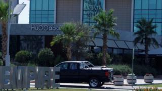 المطعم الذي شهد الهجوم في إربيل