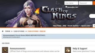 Clash of Kings forum