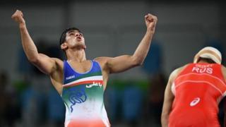 حسن یزدانی، قهرمان قهرمان وزن ۷۴ کیلوگرم مسابقات المپیک ریو