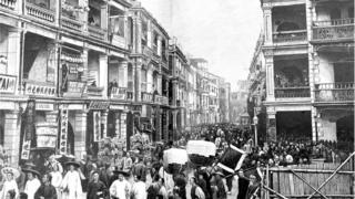 19th century Hong Kong