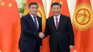 """Кыргыз-кытай президенттери. Бээжин. """"Бир кур, бир жол"""" форуму"""