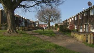 Essex estate where teenager attacked
