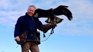Brian McCann with Golden Eagle Boru