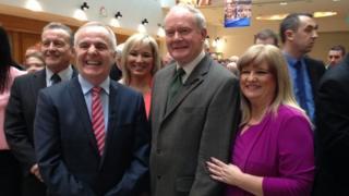 Martin McGuinness and Sinn Fein