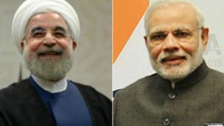 हसन रुहानी और मोदी