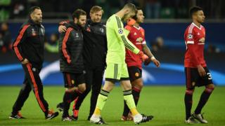Manchester United will now play in the Europa League in the New Year