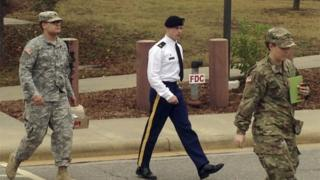 Sgt Bowe Bergdahl, who faces court martial for deserting his US Army unit in Afghanistan in 2009, 14 November 2016