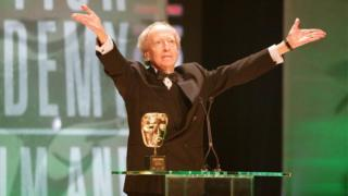 John Barry awarded his Bafta Fellowship in 2005