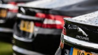 Black Jaguar XFs
