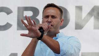 Alexei Navalny in July 2020