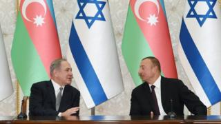 Биньямин Нетаньяху и Ильхам Алиев