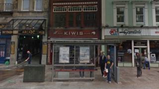 Kiwis bar on St Mary Street in Cardiff
