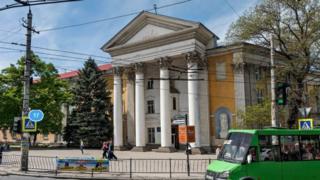 Приміщення храму ПЦУ в Сімферополі